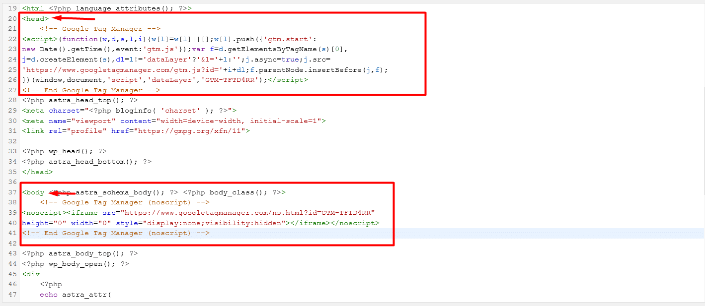 como instalar tag manager paso 5